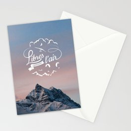 Free as a bird - Libres comme l'air Stationery Cards