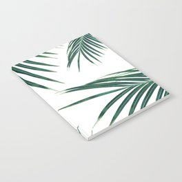 Green Palm Leaves Dream #2 #tropical #decor #art #society6 Notebook
