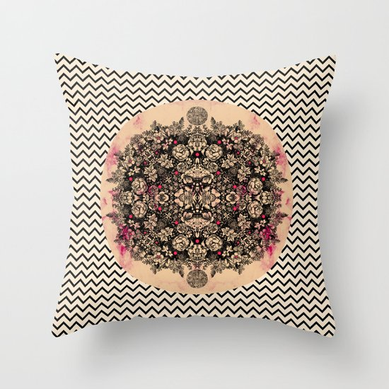 C.W. xxi Throw Pillow