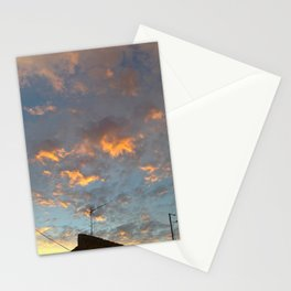 that sky .... Stationery Cards