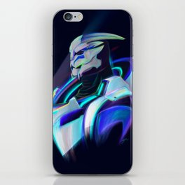 NEON Tiran Kandros Fan Art iPhone Skin