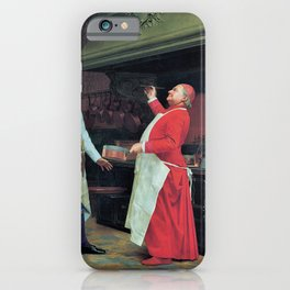 Jehan Georges Vibert - The Marvelous Sauce - Digital Remastered Edition iPhone Case