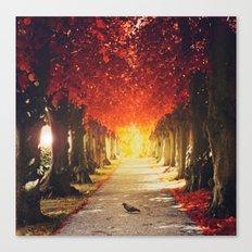 Autumn paradise. Canvas Print
