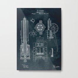 1862 - Machine gun Metal Print