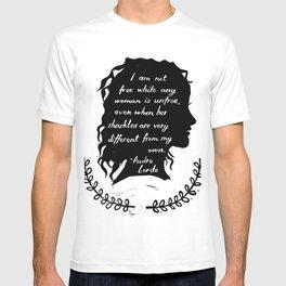 Audre Lorde Feminism T-shirt