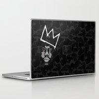 basquiat Laptop & iPad Skins featuring Biggie Basquiat by Ric_Hardwood