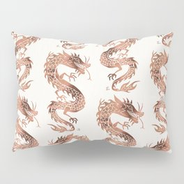 Chinese Dragon – Rose Gold Palette Pillow Sham