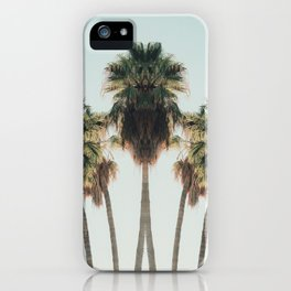 Palm Twins iPhone Case