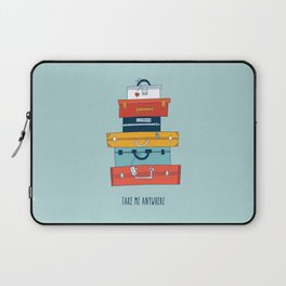 Take me anywhere Laptop Sleeve