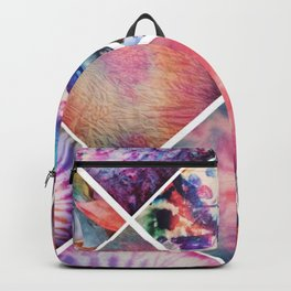 Artistic collage Backpack