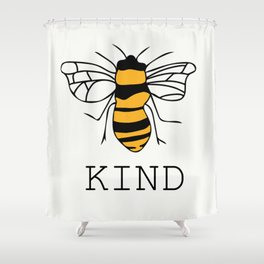 Bee Kind Shower Curtain
