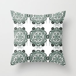 Bejewelled pattern Throw Pillow