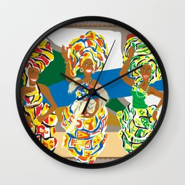 Dançarinas Wall Clock
