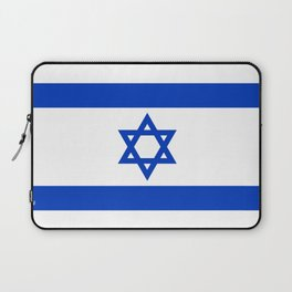 Israel Flag - High Quality image Laptop Sleeve