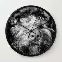 harry Wall Clocks featuring HARRY by PRE Media