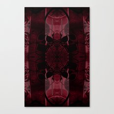 Transmitting Craniums [Red] Canvas Print