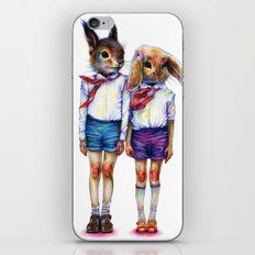 Shurik and Lyosha iPhone & iPod Skin