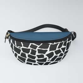 British Mosaic Navy Boarder Fanny Pack