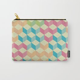 Sugar Cubes Geometric Pattern Carry-All Pouch