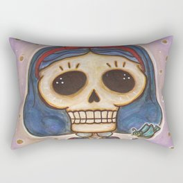Blanca Nieves Day of the Dead Rectangular Pillow