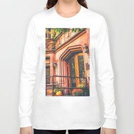 New York City Autumn Pumpkin Long Sleeve T-shirt