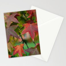 Maple Shapes Stationery Cards