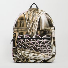 Futuristic London Art Backpack