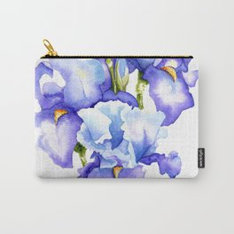 Spring Irises Carry-All Pouch