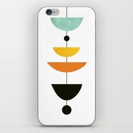 Mid Century Art iPhone Skin