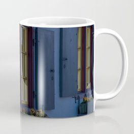 Hotel crooked house Fischer quarter Ulm Coffee Mug