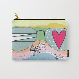Beach Days Carry-All Pouch