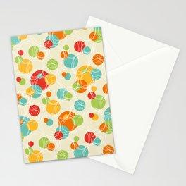 Vintage Geometric Circle Pattern Stationery Cards