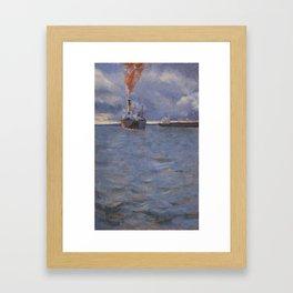 Bahia de Todos os Santos Framed Art Print