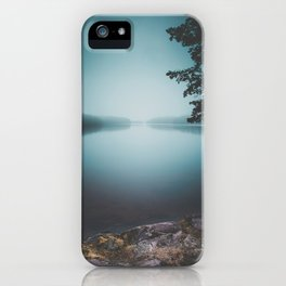 Lake insomnia iPhone Case