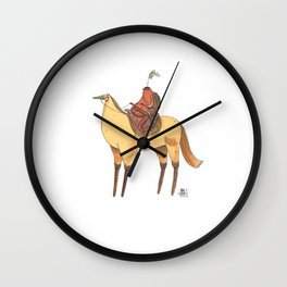 Numero 2 -Cosi che cavalcano Cose - Things that ride Things- NUOVA SERIE - NEW SERIES Wall Clock