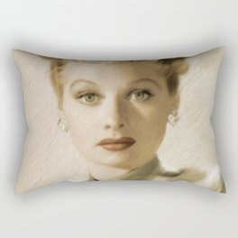 Lucille Ball Rectangular Pillow