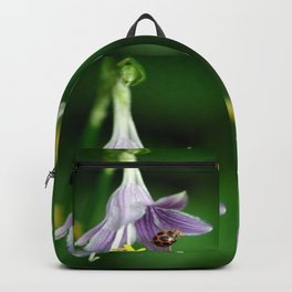 Ladybug and Flower Backpack
