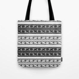 Fret Stripe Tote Bag