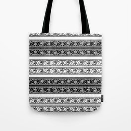 Fret Stripe Tote Bag