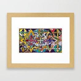 16-9f Framed Art Print