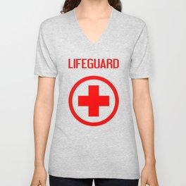 Lifeguard Unisex V-Neck