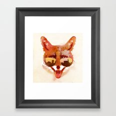 Big Town Fox Framed Art Print