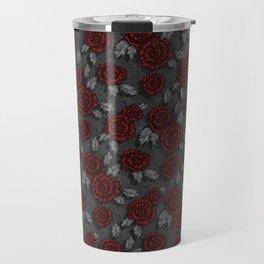 dark roses Travel Mug