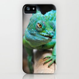 Gecko Reptile Photography iPhone Case