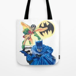 Masked Heroes / Dynamic Duo by Peter Melonas Tote Bag