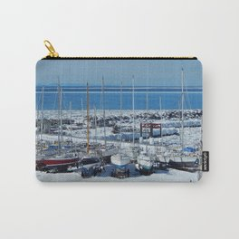 Sailboats in Winter Carry-All Pouch