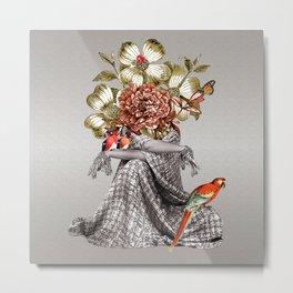 Lady Birds Metal Print