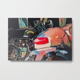 Motorcycles Metal Print