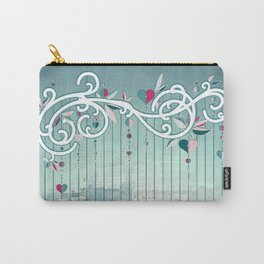 Heart Candy Raincloud Carry-All Pouch