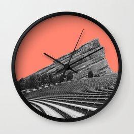 Red Rocks Amphitheater  Wall Clock